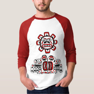 T-shirt Oiseaux du soleil de Haida