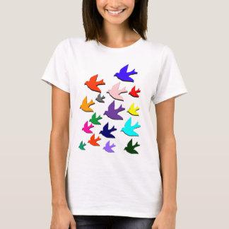 T-shirt Oiseaux en vol