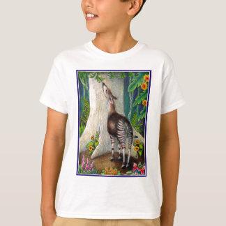 T-shirt Okapi dans la forêt tropicale