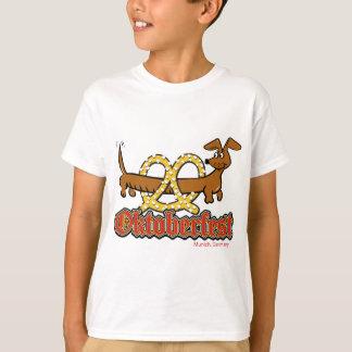 T-shirt Oktoberfest-Bande-Bretzel-Doxie