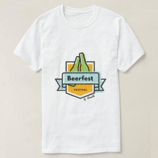T-shirt Oktoberfest Beerfest. Ajoutez le nom