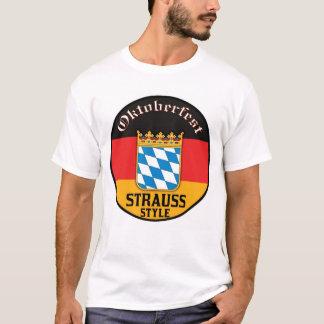 T-shirt Oktoberfest - style de Strauss