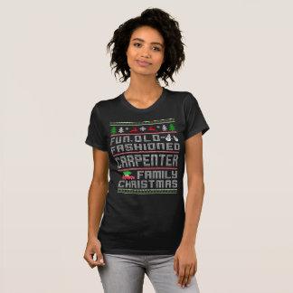 T-shirt Old-fashioned d'amusement, Noël de famille de