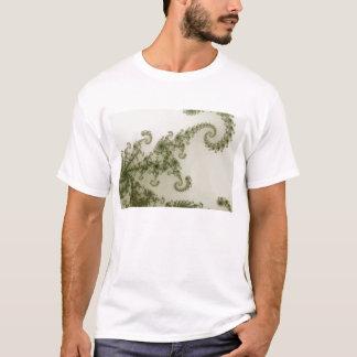 T-shirt olive de fumée