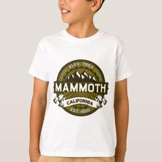 T-shirt Olive gigantesque de Mtn
