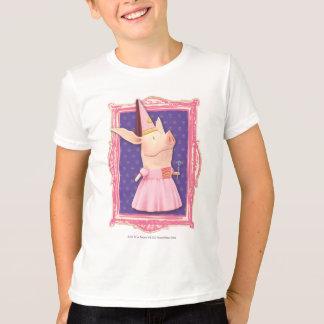 T-shirt Olivia dans le cadre rose