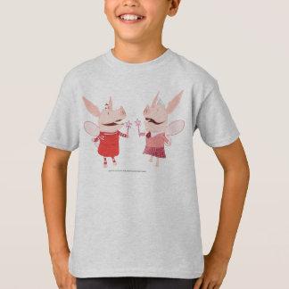 T-shirt Olivia et Francine - fée