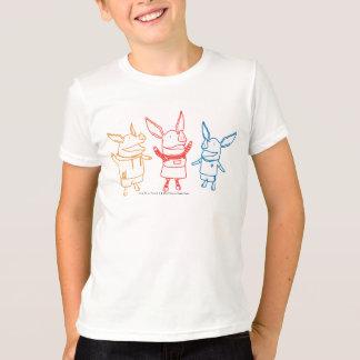 T-shirt Olivia, Julian, et encourager d'Ian