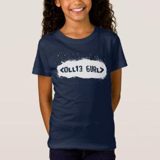 T-Shirt Ollie Gurl Leet (blanc)