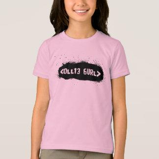 T-shirt Ollie Gurl Leet (noir)