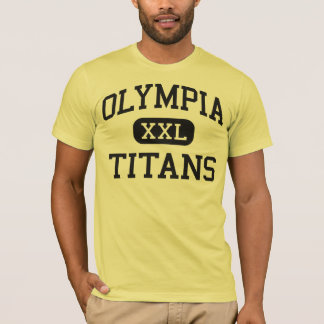 T-shirt Olympia - titans - lycée - Orlando la Floride