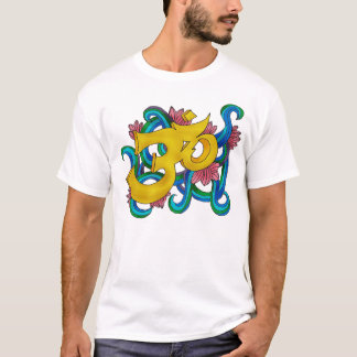 T-shirt OM handsketched coloré