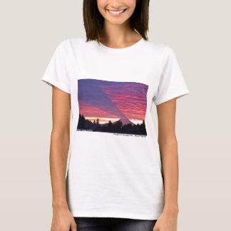 T-shirt Ombre de la montagne - le mont Rainier
