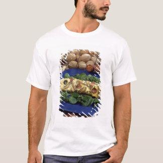 T-shirt Omelette roulée avec le shiitaké et le chorizo -