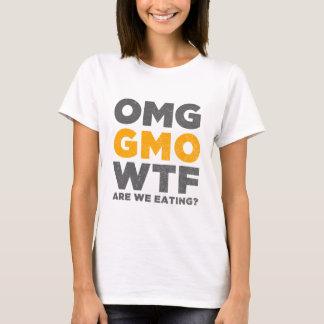 T-shirt OMG GMO WTF sont nous mangeant ?