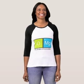 T-shirt OMg ! Les éléments de l'inattendu - chemise