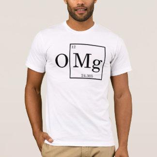 T-shirt OMG - Magnésium - magnésium - table périodique