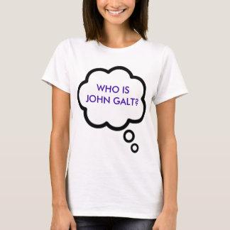 T-shirt OMS JOHN EST-IL GALT ? Nuage de pensée