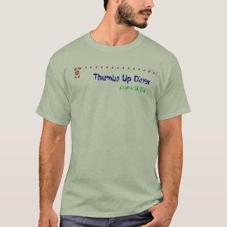 T-shirt OMS ? ? ? Les pouces lèvent le wagon-restaurant