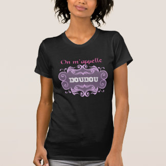 T-shirt On m'appelle doudou