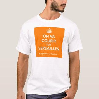 T-shirt On va courir sur versailles