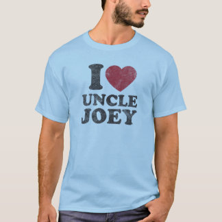 T-shirt Oncle Joey d'amour du cru I