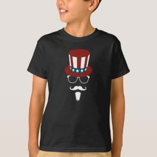 T-shirt Oncle Sam de hippie
