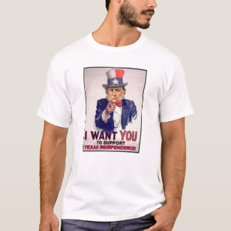 T-shirt Oncle Sam Houston