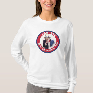 T-shirt Oncle Sam : JE VOUS VEUX…