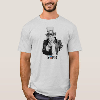 T-shirt Oncle Sam - pièce en t de Nope - de Nobama