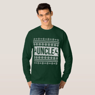T-shirt Oncle Ugly Christmas Sweater