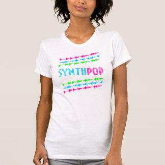T-shirt Ondes sonores de rétro Synth de Corey bruit au