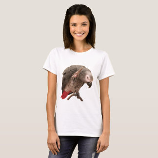 T-shirt Ondulation de perroquet d'Einstein