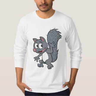 T-shirt Ondulation grise d'écureuil de Rick | de garde