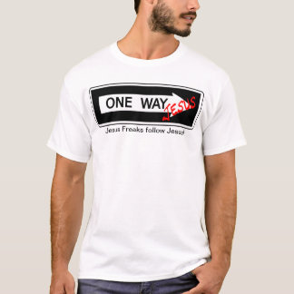 T-shirt One Way Jesus