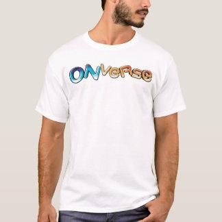 T-shirt Onverse a adapté la pièce en t de logo