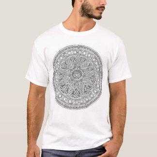 T-shirt Onze ont dirigé le pentagone étoilé celtique