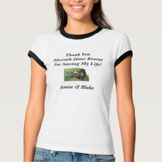 T-shirt Onzième chemise de l'heure de Yvette