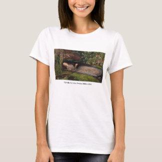 T-shirt Ophélie par John Everett Millais