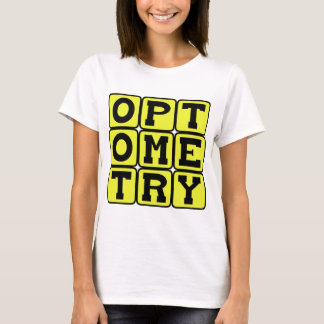 T-shirt Optométrie, la Science de la vue