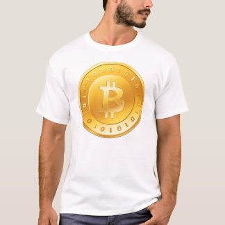 T-shirt Or de Bitcoin