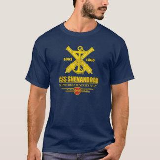 T-shirt Or de CSS Shenandoah (emblème de marine)