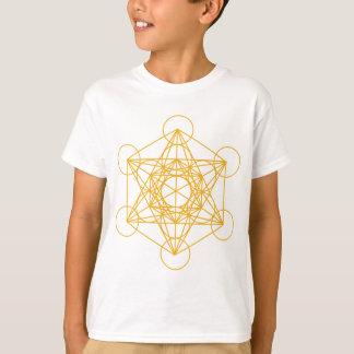 T-shirt Or de cube en Metatron