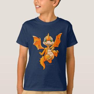 T-shirt Orange de Scorchio
