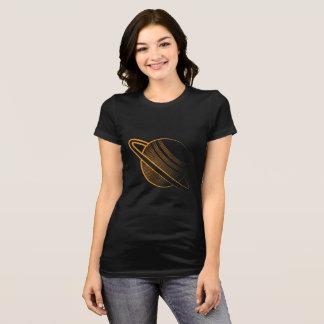 T-shirt Orange planet