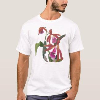 T-shirt orchidée une