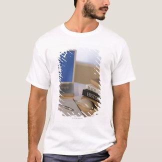 T-shirt Ordinateur portable et manuels