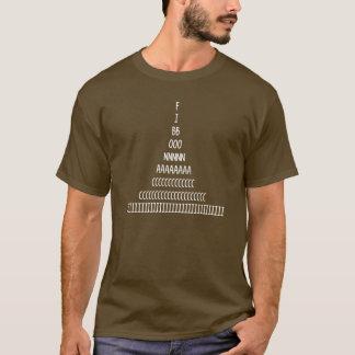 T-shirt Ordre de Fibonacci