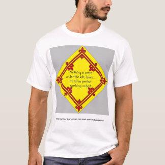 T-shirt Ordre d'entretien parfait