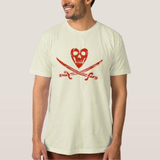 T-shirt Organic Kissourine Jolly Roger